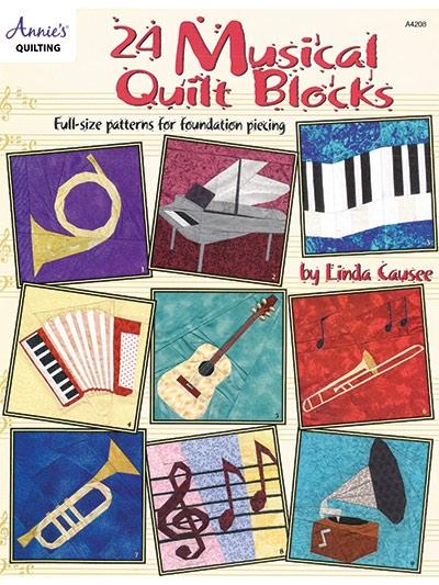 Beautiful musical quilt blocks 11 Modern Quilt Blocks Patterns Gallery