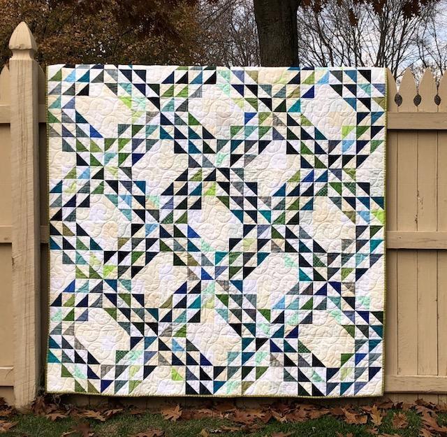 Beautiful ocean waves quilts block border 10 Elegant Ocean Waves Quilt Pattern Inspirations