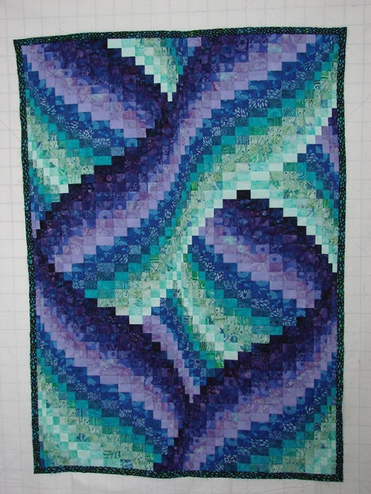 Beautiful quilting land twisted bargello quilt 9 Beautiful Twisted Bargello Quilt Pattern Gallery