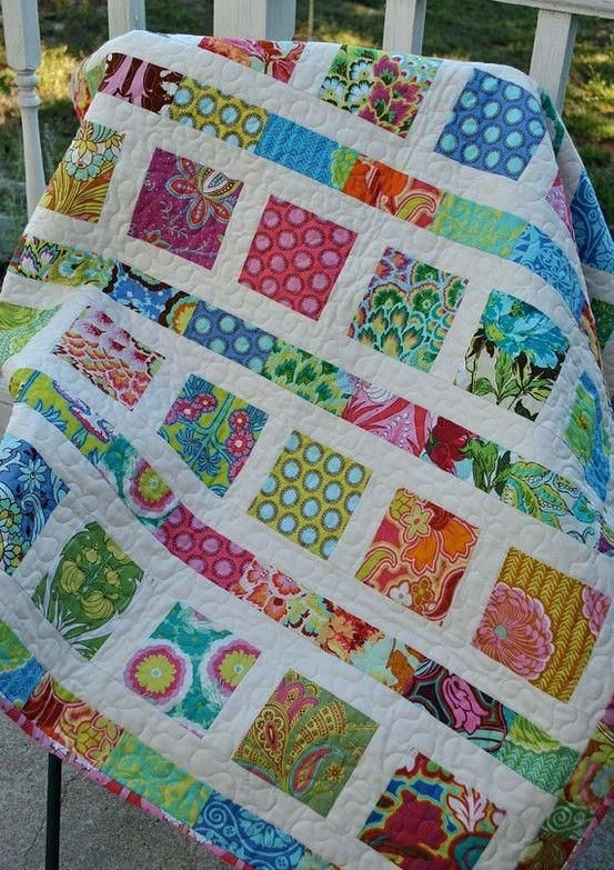 Beautiful quilts made with 2 charm packs cute charm quilt who needs a 9 Beautiful Quilt Patterns Using Charm Squares Inspirations