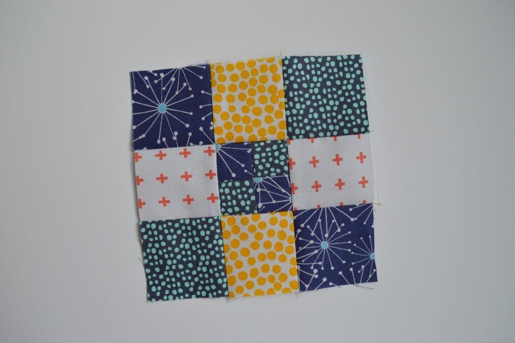 Beautiful super simple sampler quilt blocks color girl quilts 10 Elegant Simple Quilt Square Patterns