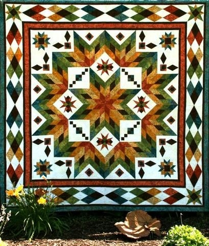 Beautiful taos quilts star quilt patterns star quilts 11   Quilting Ideas For Taos Block Of The Month Inspirations
