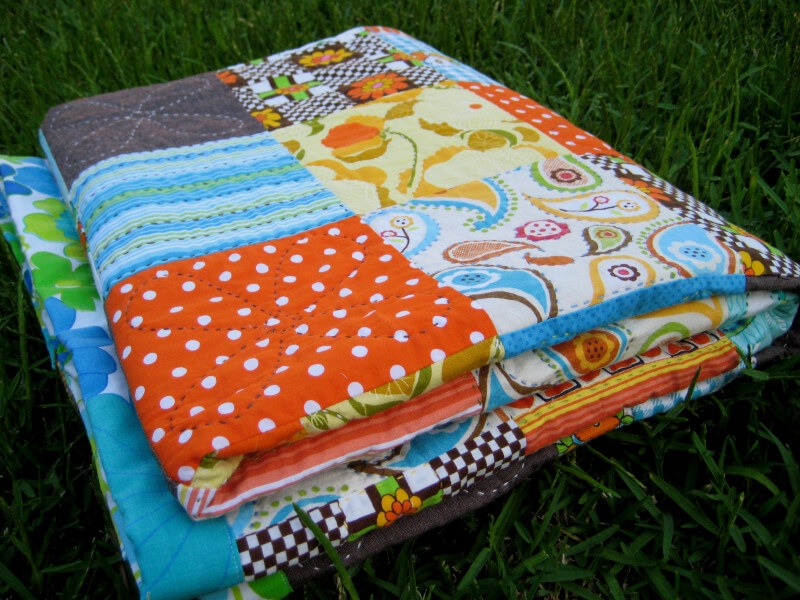 Beautiful ultra easy scrap quilt tutorial sew my place Cool Easy Scrappy Quilt Patterns Gallery