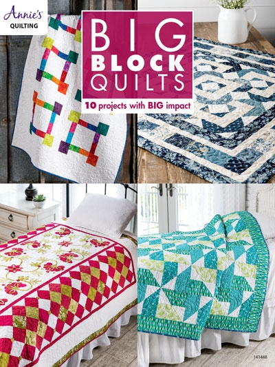 big block quilts 9 Cool Block Quilt Patterns For Beginners