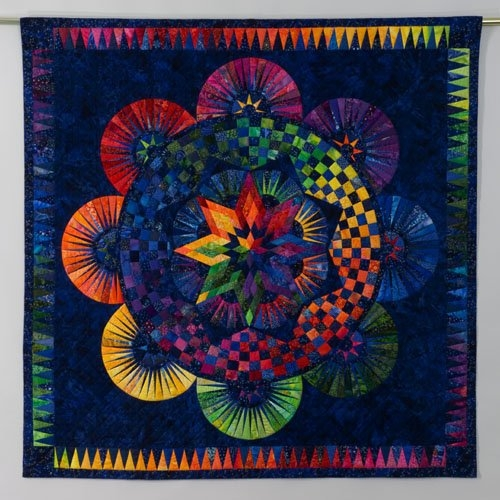 circle of life jacqueline de jonge be colourful quilts Circle Of Life Quilt Pattern