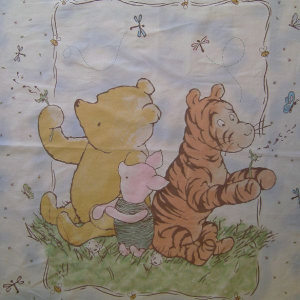 classic winnie the pooh quilt fabric panel to sew winnie 9 Elegant Winnie The Pooh Quilting Fabric Gallery