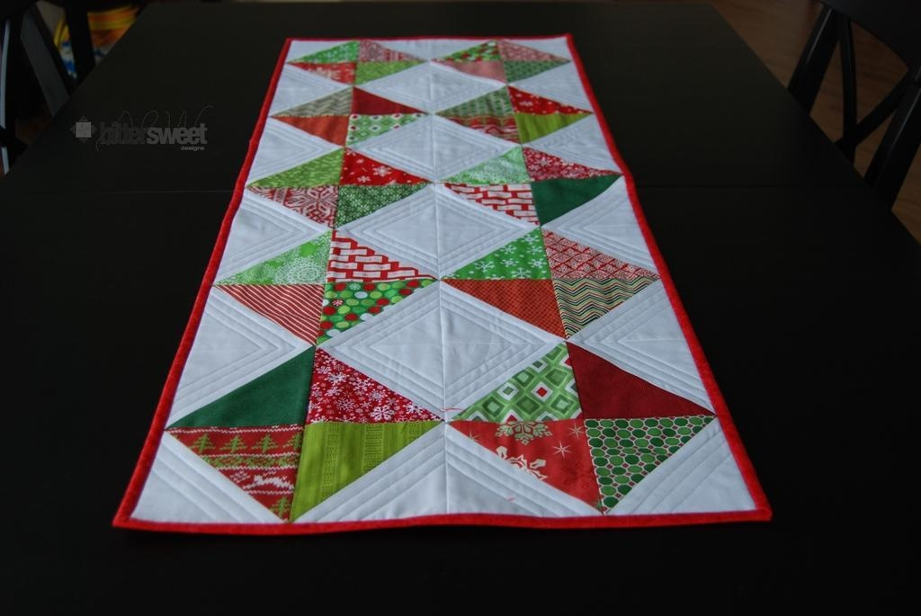 Cool 10 free table runner quilt patterns youll love 10 Modern Easy Table Runner Quilt Patterns