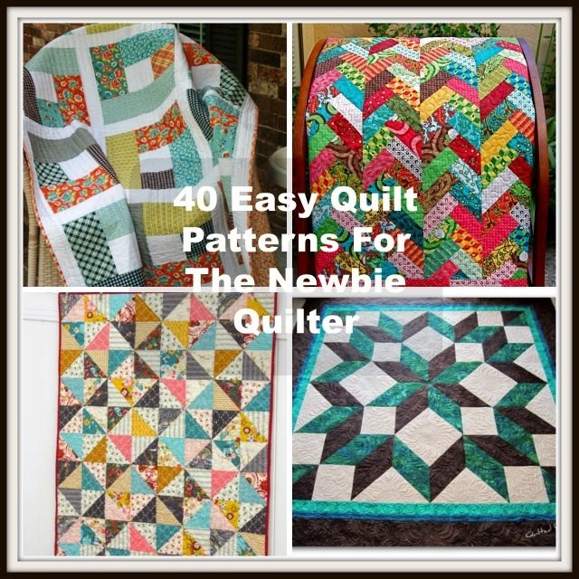 Cool 40 easy quilt patterns for the newbie quilter 9 Interesting Very Easy Quilt Patterns
