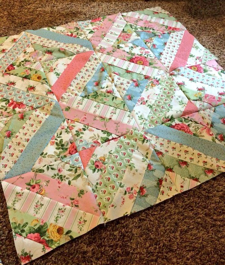 Cool best 25 jellyroll quilts ideas on pinterest quilts strip 9   Pinterest Easy Quilt Patterns Inspirations