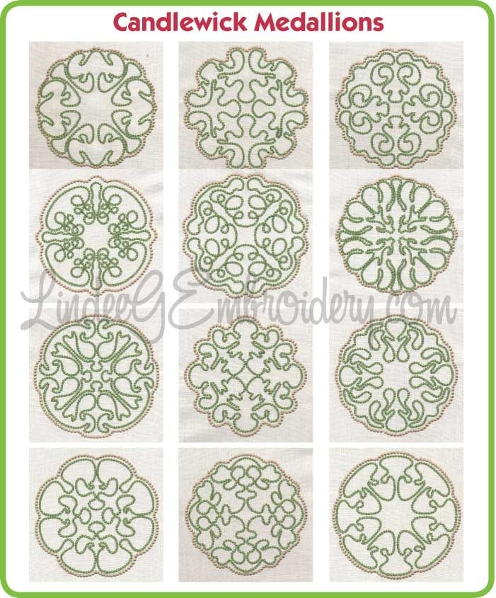 Cool candlewick medallions free collection with newsletter 9 New Candlewick Quilt Patterns