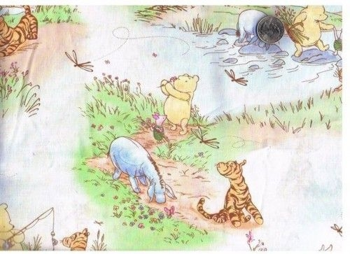 Cool classic pooh printables yard 6 inch classic winnie the 9 Elegant Winnie The Pooh Quilting Fabric Gallery