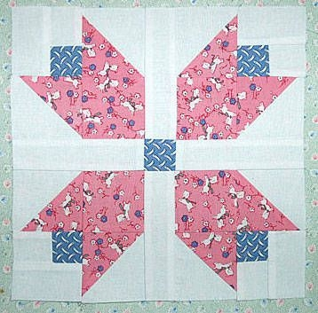 Cool create a beautiful quilt with one of these free block 9   Tulip Quilt Block Pattern Inspirations