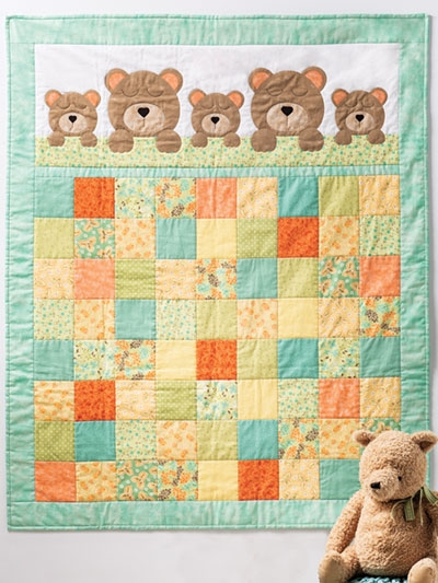 Cool easy ba quilt kits made easy and fun to make 11 Unique Quilting Kits And Patterns Inspirations