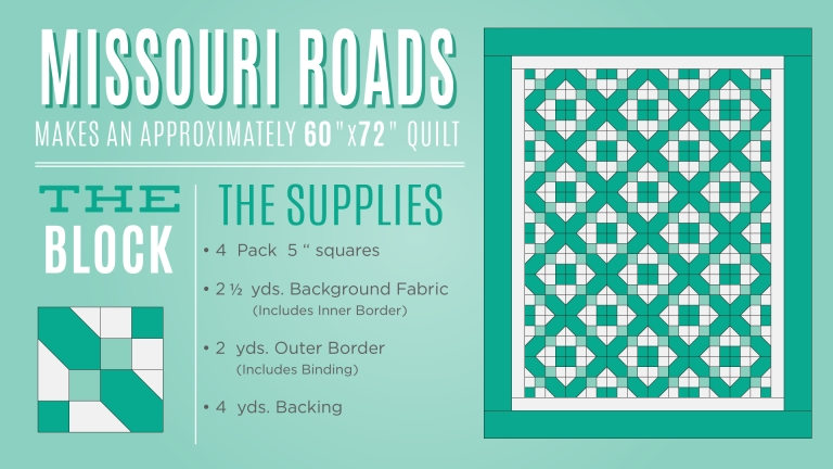 Cool free missouri crossroads quilt tutorial missouri star 10   Missouri Quilt Block Patterns Gallery