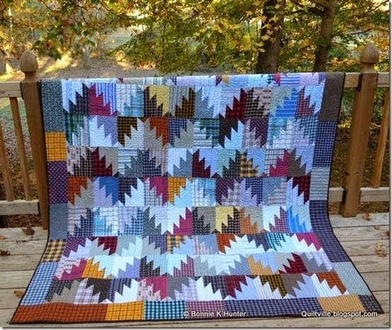 Cool free tutorial scrappy mountain majesties quilt bonnie k 9 New Bonnie Hunter Quilt Patterns