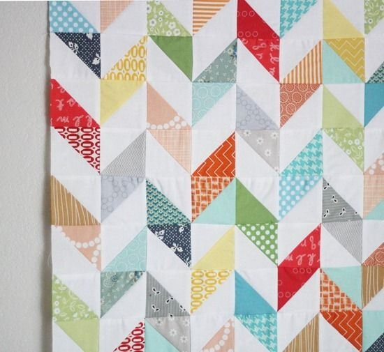 Cool hop hop sew triangle quilt quilt patterns charm square quilt 9 New 1 2 Square Triangle Quilts