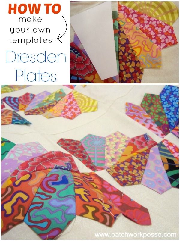 Cool how to make your own dresden plate templates 11 Interesting Dresden Plate Quilt Pattern Inspirations