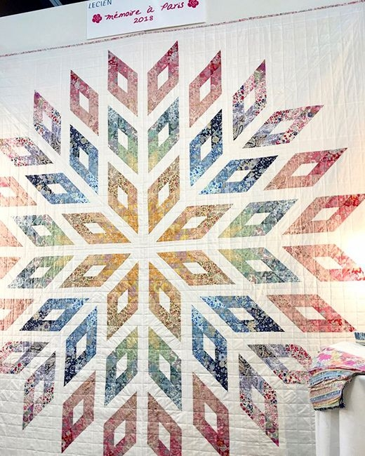 Cool memoire a paris lone star quilt free pattern designed 9 Beautiful Lone Star Quilt Pattern Free Gallery