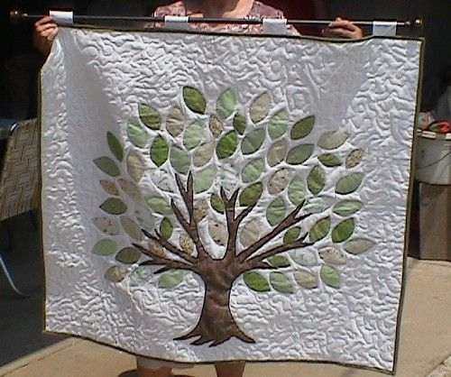Cool posts about home decor on quilt in progress family tree 11 Interesting Family Tree Quilt