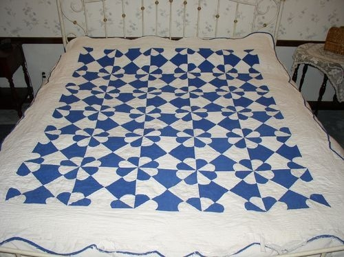 Cool quilt ebay blue quilts white quilt home decor 9 Beautiful Hearts And Gizzards Quilt Pattern Gallery