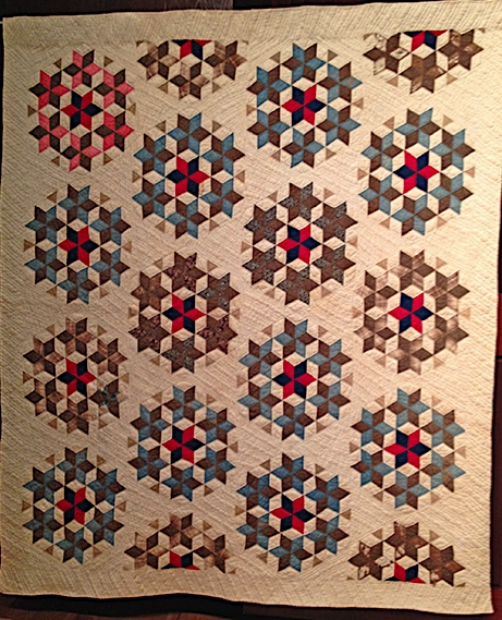 Cool quilt stories from the museum of texas tech university 11 Elegant Seven Sisters Quilt Pattern