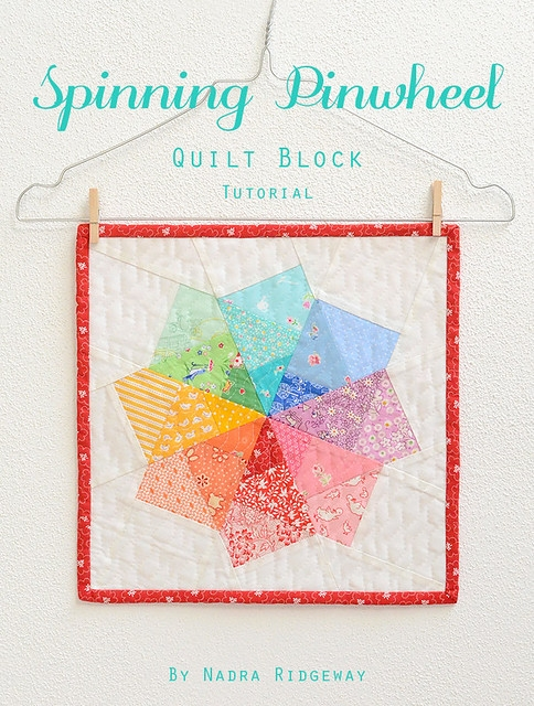 Cool spinning pinwheel quilt block tutorial read more on my blo 9 Unique Pinwheel Quilt Block Pattern Gallery
