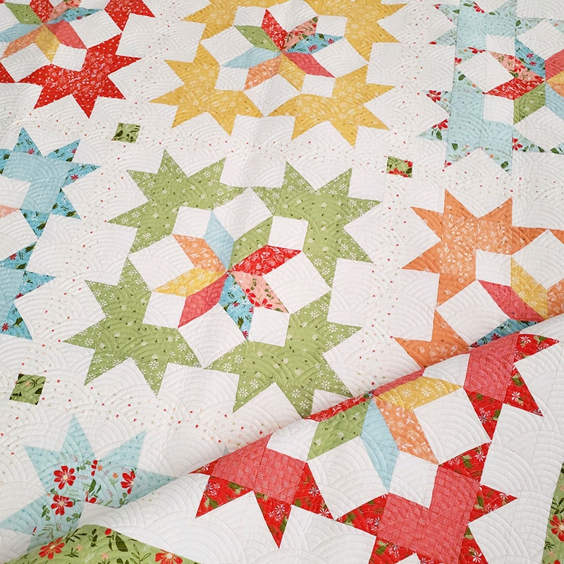 Cool starlight fat quarter quilt pattern quilting a quilting life 11 Interesting Fat Quarter Quilts Patterns