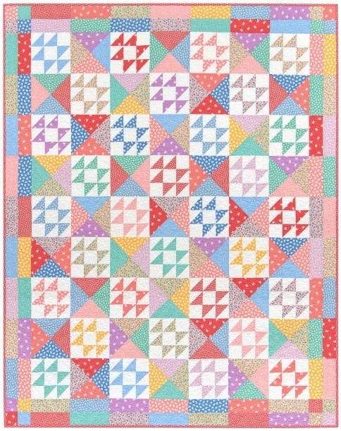 Cool sunny days designer pattern robert kaufman fabric company 9 Interesting Hummingbird Quilt Pattern By Darlene Zimmerman