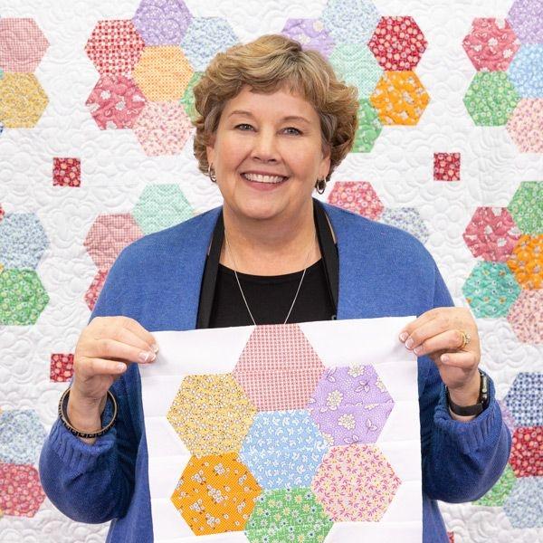 Cool vintage blossom quilt missouri star quilt company 10   Missouri Quilt Block Patterns Gallery