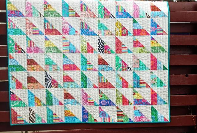Cozy 15 free fat quarter quilt patterns 11 Cool Fat Quarter Bundle Quilt Patterns