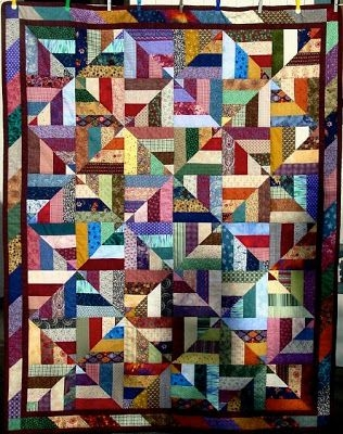 Cozy 26 free scrappy quilt patterns i love this page great Cool Easy Scrappy Quilt Patterns Gallery
