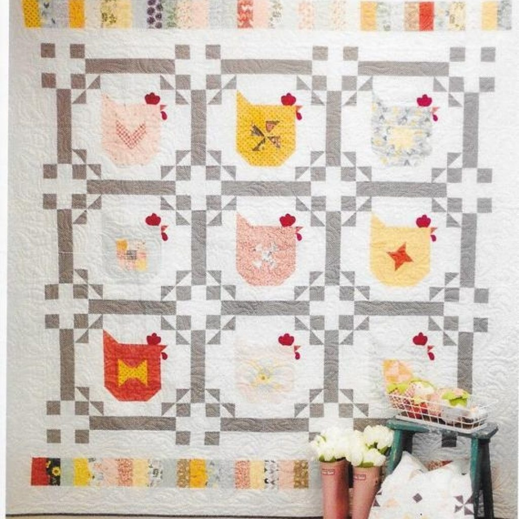 Cozy chicken scratch quilt pattern poppie cotton layer cake friendly 11 Stylish Chicken Scratch Quilt Pattern Inspirations
