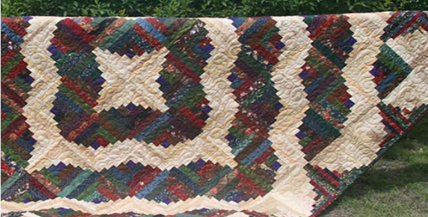 Cozy curvy log cabin quilt layers of beauty to discover 10 Interesting Curved Log Cabin Quilt Pattern