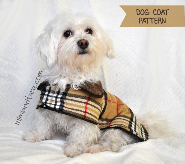 Cozy dog coat pattern pdf pattern mimi tara 10 Modern Quilted Dog Coat Pattern Gallery