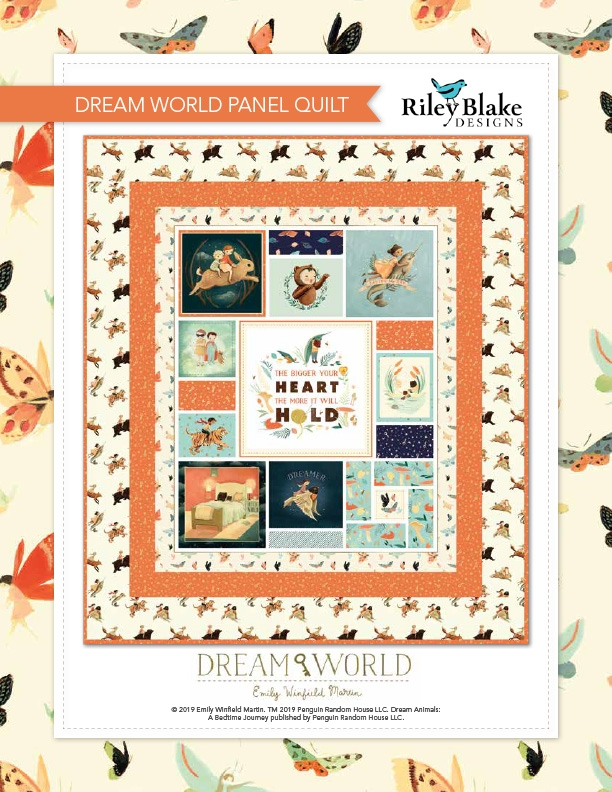 Cozy free quilts patterns riley blake designs 10 Unique Quilt Patterns For Panels Gallery