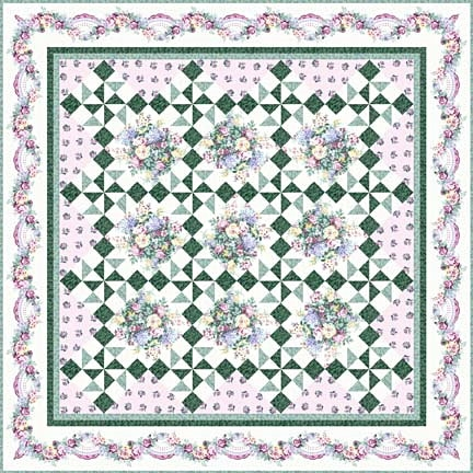Cozy garden twist quilt kit Cozy Garden Twist Quilt Pattern Inspirations