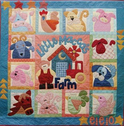Cozy june 21 2012 update farm quilt patterns farm quilt Unique Farm Animal Quilt Patterns Inspirations