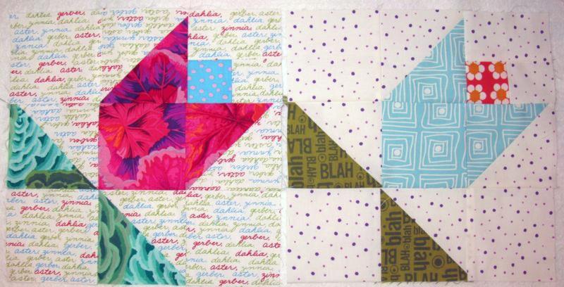 Cozy june flowerstulip tutorial occasionalpiece quilt 9   Tulip Quilt Block Pattern Inspirations