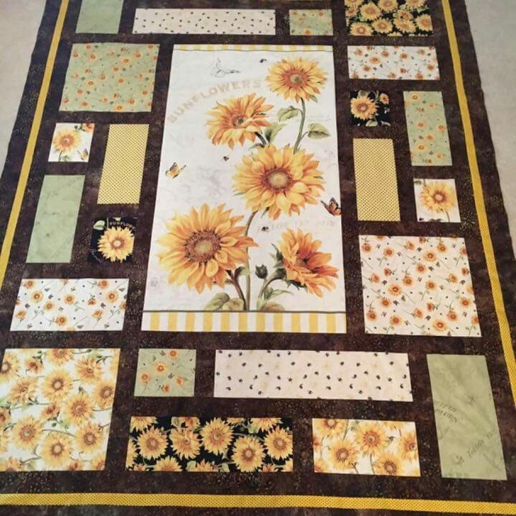 Cozy like the design and the idea panel quilt patterns 10 Modern Quilt Patterns With Panels