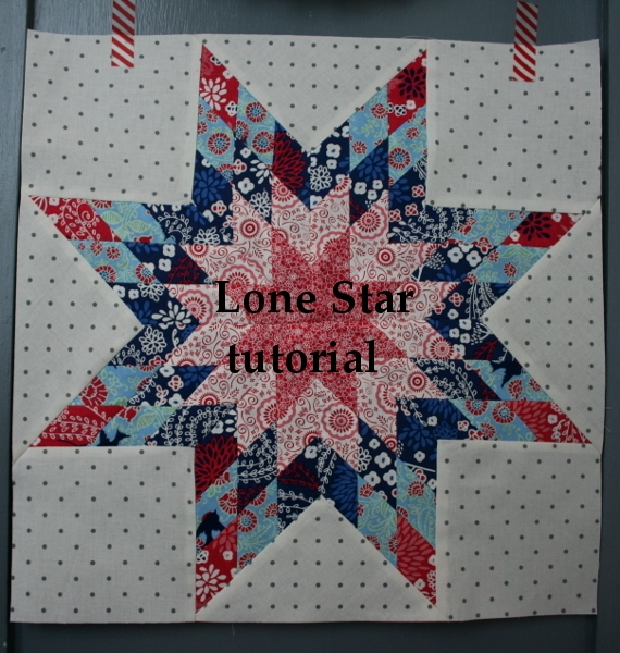 Cozy lone star block tutorial hopeful homemaker 9 Beautiful Lone Star Quilt Pattern Free Gallery