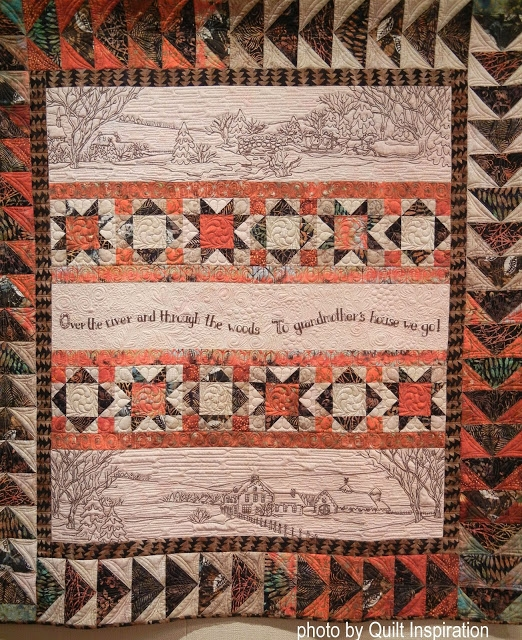 Cozy quilt inspiration over the river and through the woods 10 Beautiful Over The River And Through The Woods Quilt Pattern Inspirations