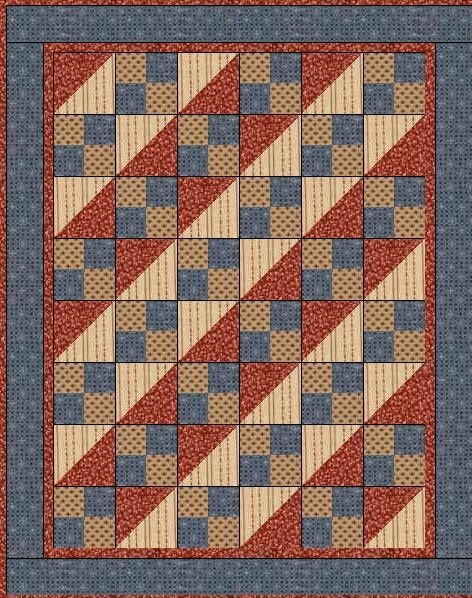 11 Modern Quilt Patterns Using 4 Fabrics Gallery