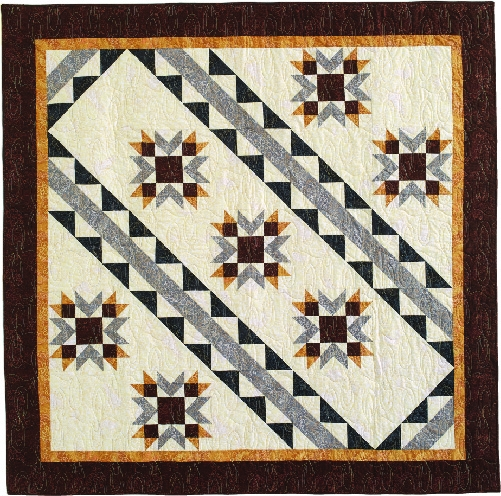 Cozy seven sisters seven sparkling stars in a unique dynamic 11 Elegant Seven Sisters Quilt Pattern