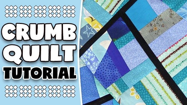 crumb quilting tutorial 10   Crazy Patchwork Quilt Patterns Inspirations