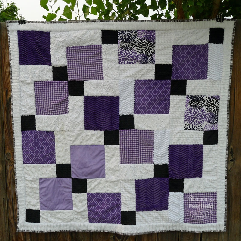 disappearing nine patch cuddle quilt 11 Stylish Tossed Nine Patch Quilt Pattern Gallery