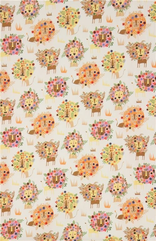 Elegant beige lion fabric quilting treasures 11 Modern Stylish Quilting Treasures Fabric