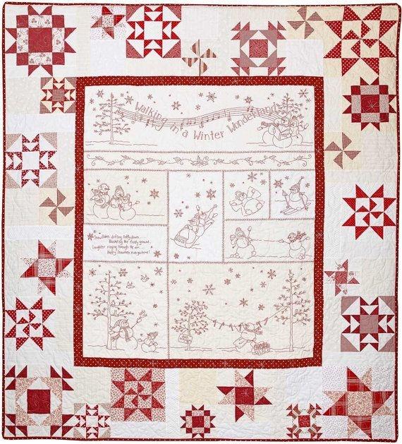 Elegant crabapple hill winter wonderland quilt pattern winter 11 Cool Winter Wonderland Quilt Pattern