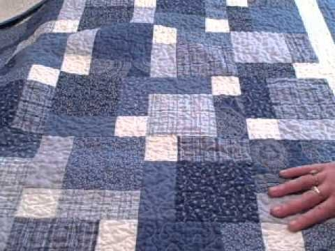 Elegant disappearing 9 patch ba quilt 11 Cool Hidden Nine Patch Quilt Pattern