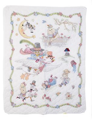 Elegant free mother goose quilt pattern 10   Vintage Baby Quilt Pattern
