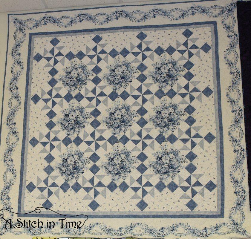 Elegant garden twist anniversary quilt 76x76 105341 quilt kits Cozy Garden Twist Quilt Pattern Inspirations